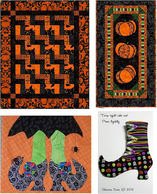 Halloween & Autumn Applique Patterns - Erica's Craft