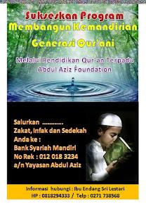 Membangun Generasi Qur'ani