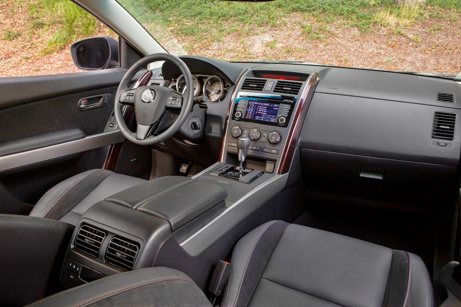 Interior view of 2015 Mazda CX-9.