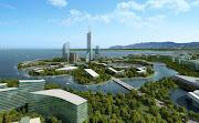 Dalian's New Airport, the Balanced City by NDA Planning (dalian aeropolis pr )