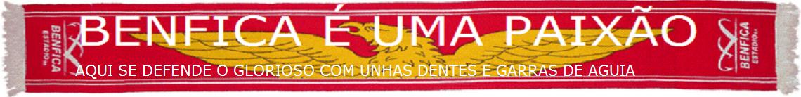 BENFICA É UMA PAIXÃO