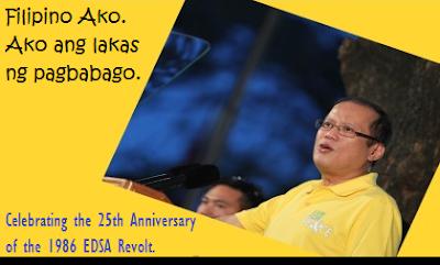 P-Noy's EDSA Message