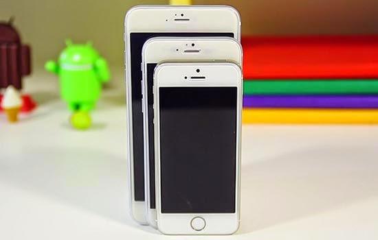 størrelse på iphone 7
