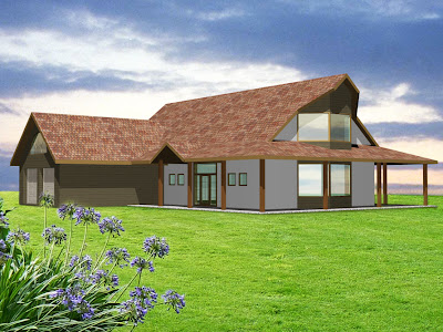 Architekt Rzeszów. Willa, rezydencja, luksusowy dom, wizualizacja.