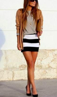 Cute dressing for women + Heels
