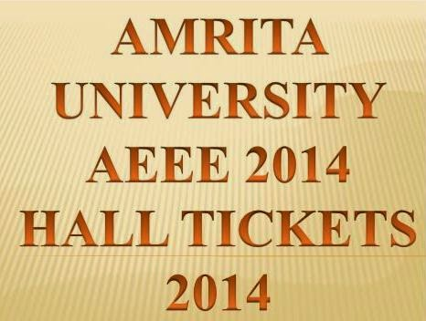 Download Hall Ticket 2014 Amrita Engineering Entrance Examination 2014 Online @ www.amrita.edu