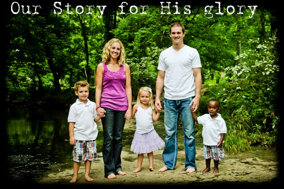 Our Story for His Glory