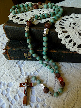 Small Hand Knotted Rosary..