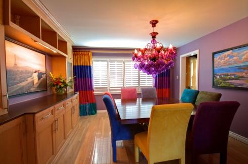 Designcandy sweet color palettes reminiscent of for Bold dining room colors
