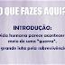 Mensagem: 'O QUE FAZES AQUI?', Domingo 03/03/13 - [.ppt]