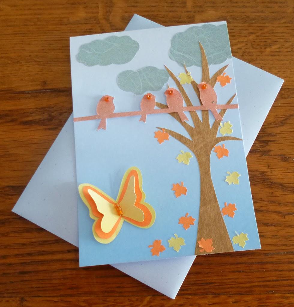 Je m 39 clate avec mes 10 doigts des cartes de voeux faites - Carte de voeux maison ...