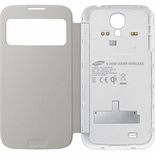 Wireless-Charging-S-View-Covers- For-Samsung-Galaxy-S4-White
