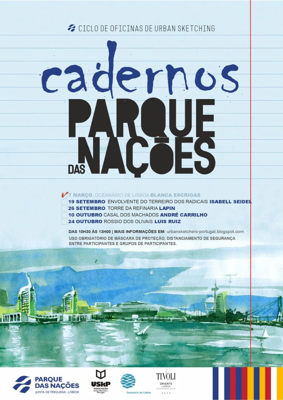 CADERNOS DO PARQUE DAS NAÇÕES