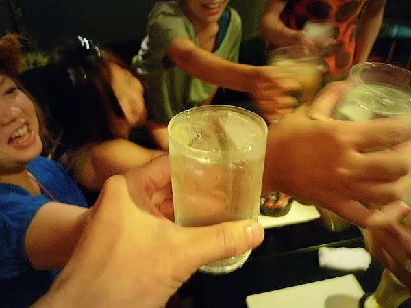 2次会 乾杯