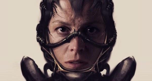 Ripley Alien según Neill Blomkamp