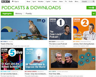 Aprende inglés escuchando la BBC (Podcasts and Downloads)
