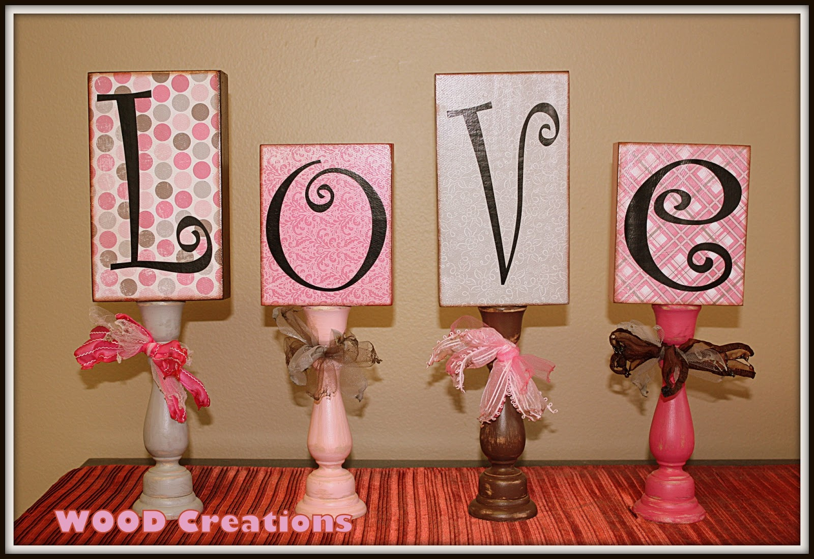 love block set wcandlesticks 2199