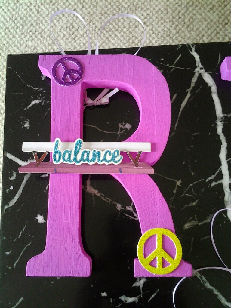 Oven Mitts and Other Bits: Name Letters