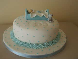la torta di benvenuto per il piccolo edoardo