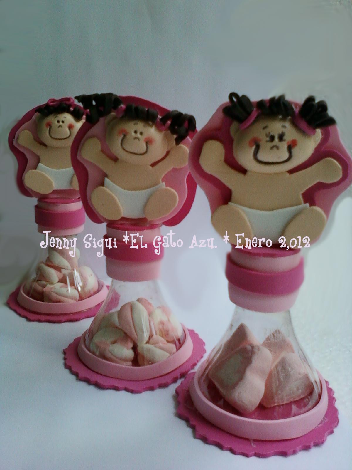 Recuerdos Para Baby Showers De Niña ~ Pin baby shower nina recuerdos en material reciclado y