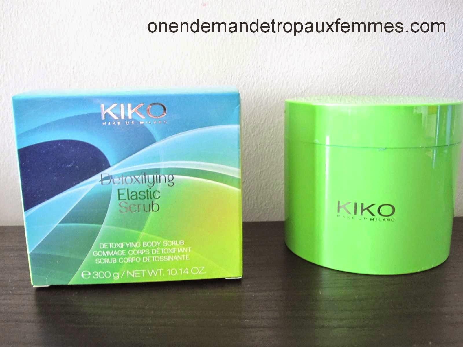Detoxifying Elastic Scrub de KIKO