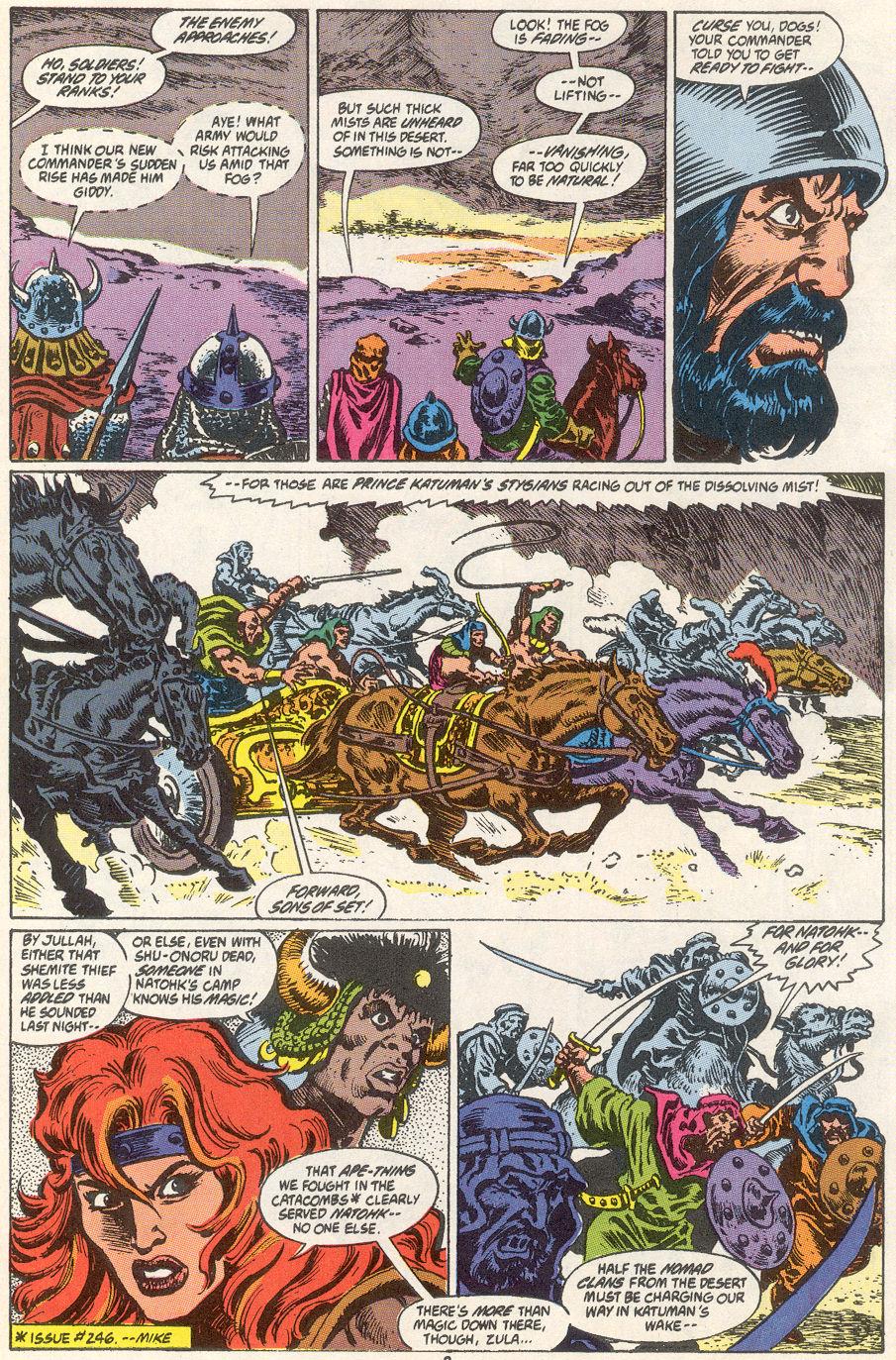 Conan the Barbarian (1970) Issue #249 #261 - English 8
