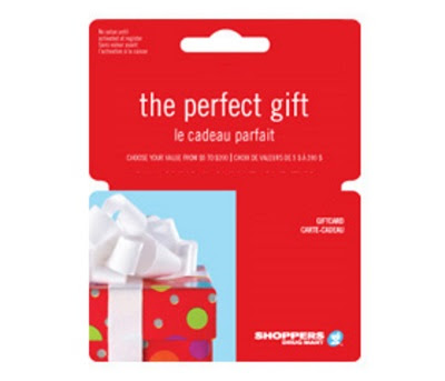 12 Days of Christmas Giveaways Day 3 - $25 Shoppers Drug Mart Gift Card