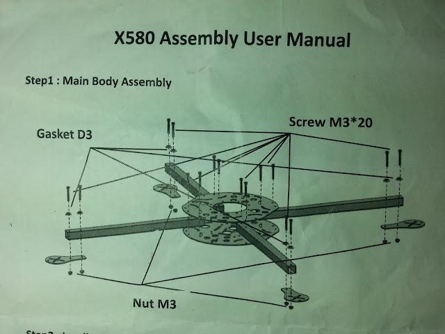 como montar un multicopter