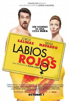 Poster de Labios Rojos