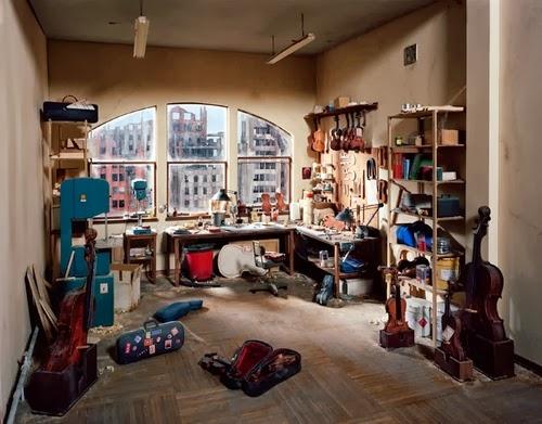 12-Musical-Instruments-Repair-Studio-Photographer-Lori-Nix-Model-Making-Painting-Photography-www-designstack-co
