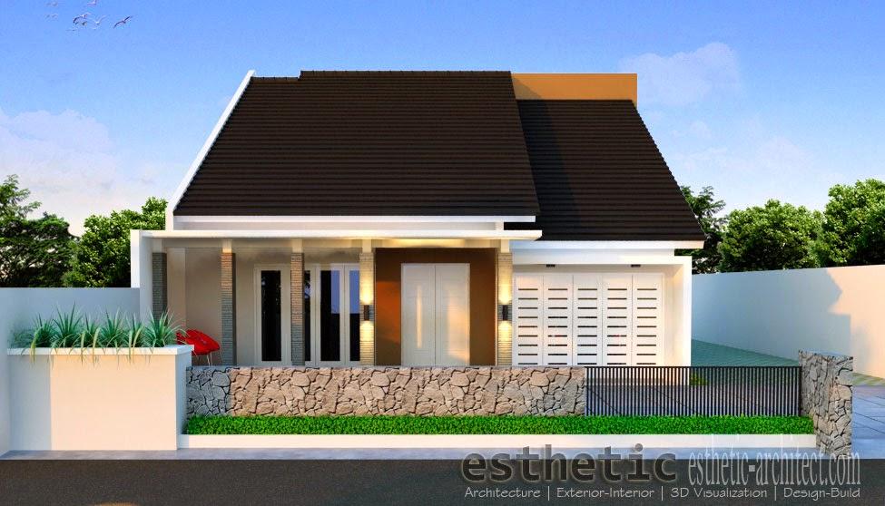 rumah minimalis 1 lantai type 100