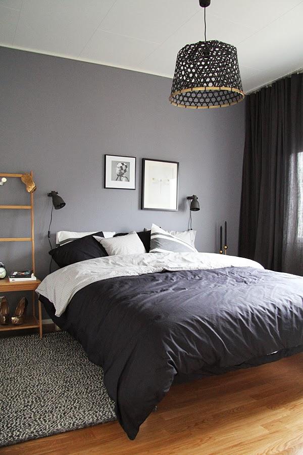 Un dormitorio relajante y low cost ministry of deco - Dormitorio gris ...