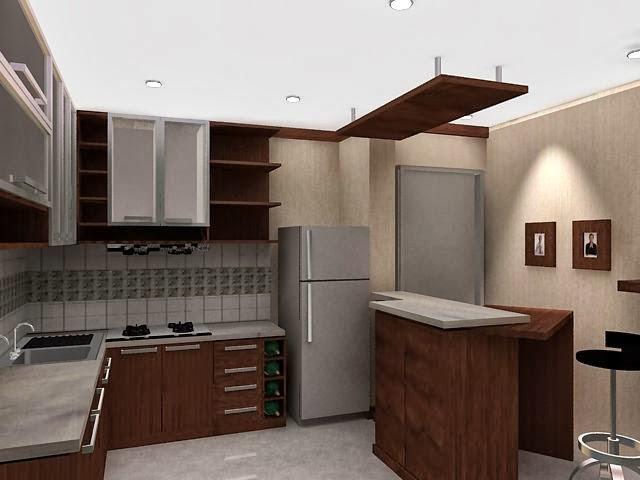 Desain Dapur Rumah Minimalis Terbaru Modern