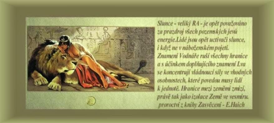 proroctví z knihy Zasvěcení