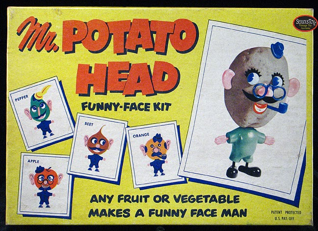 Mr. Potato Head 1ª producción en 1952