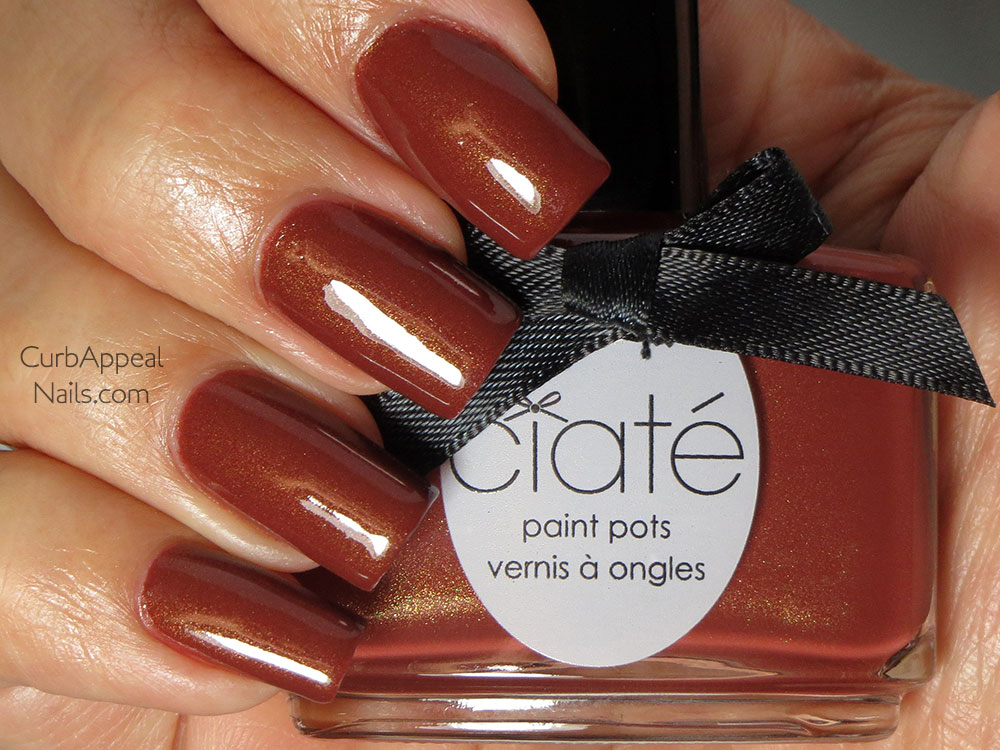 Ciaté Pecan Pie Swatches