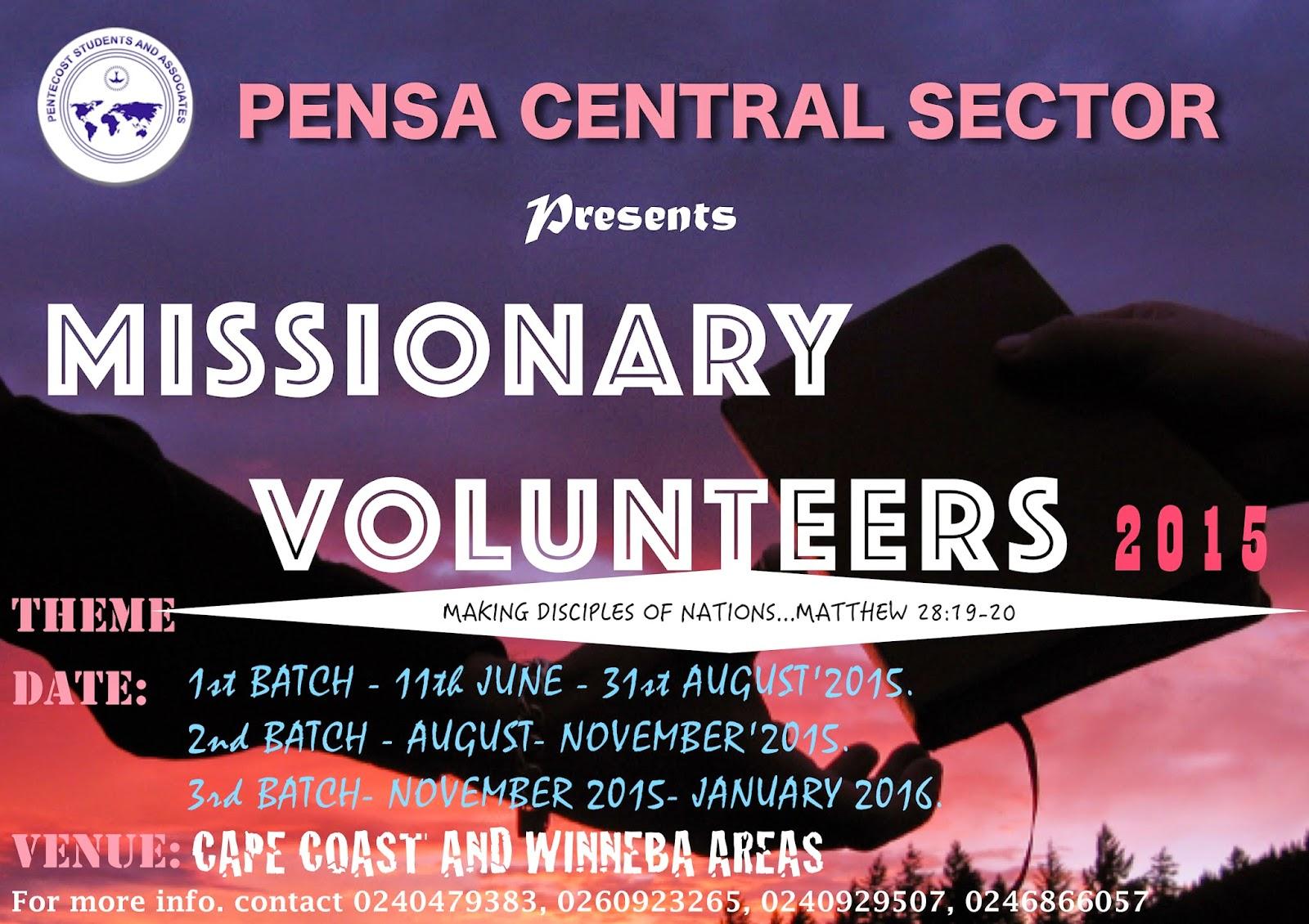 Chnts winneba array missionary volunteers rh pensacentral blogspot fandeluxe Images