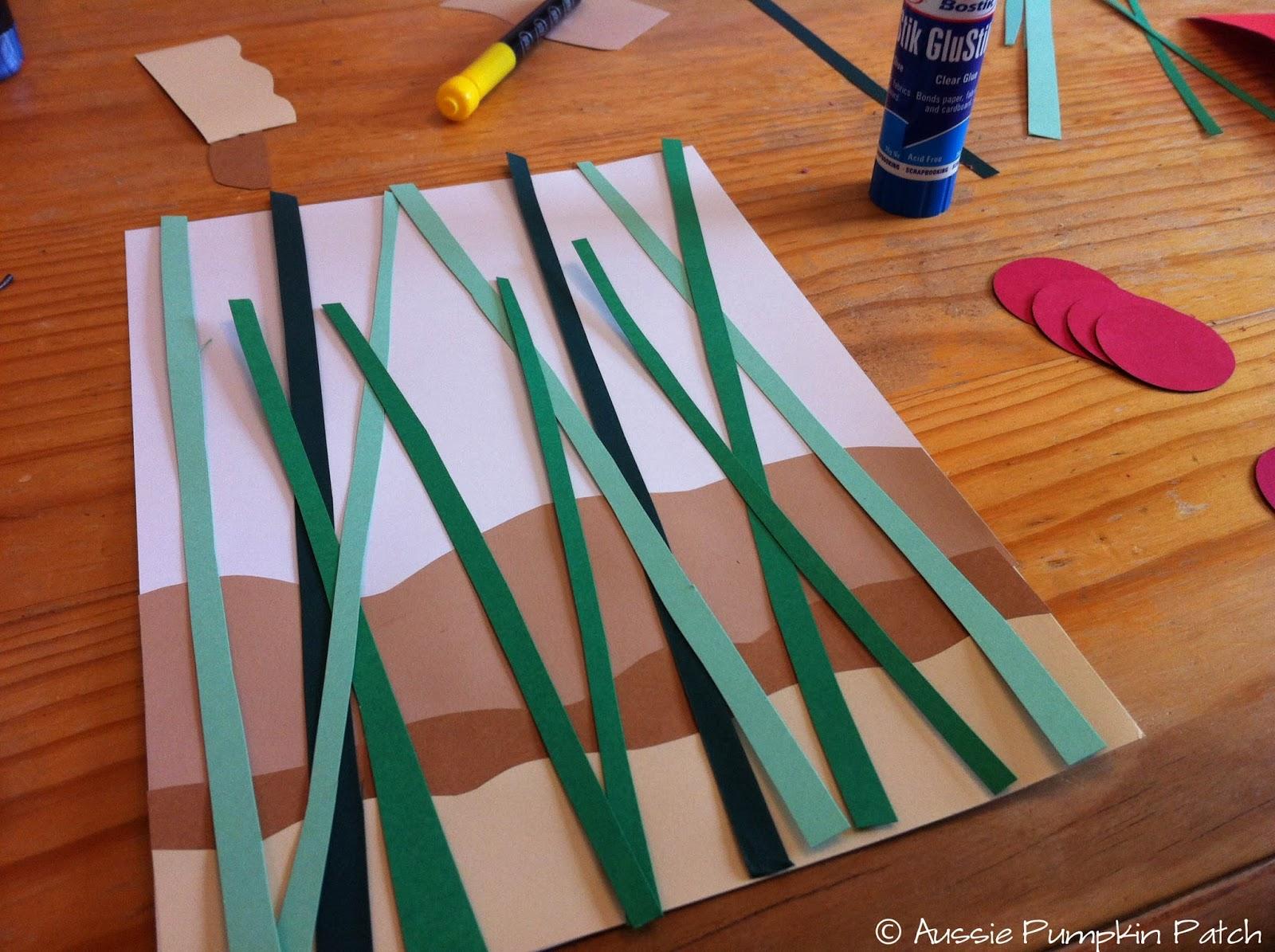 Поделки ручки из цветной бумаги