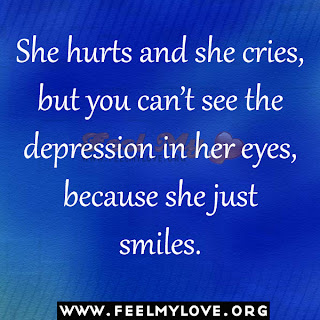 She hurts and she cries
