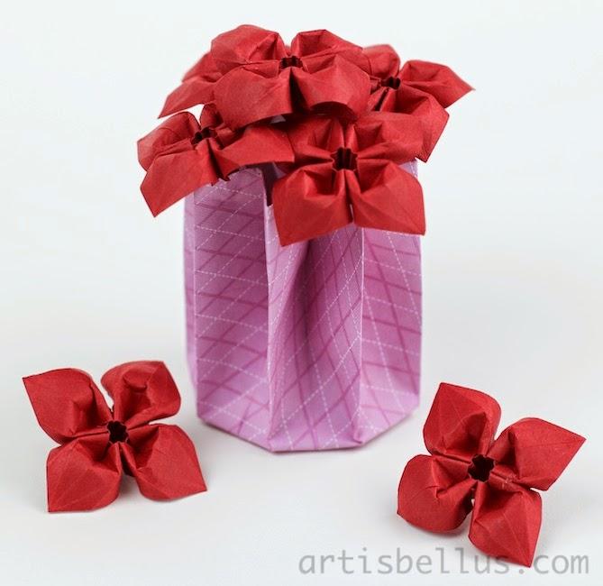 Origami Flowers: Primroses