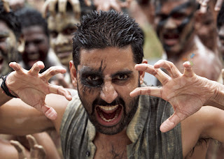 Abhishek Bachchan as Beera in Raavan