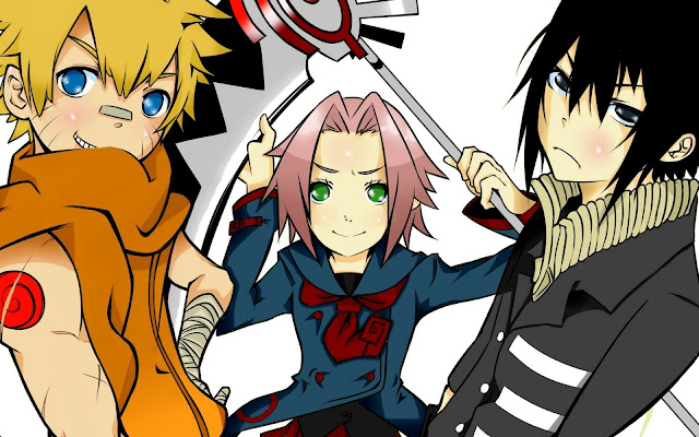 Soul Eater and Naruto Anime