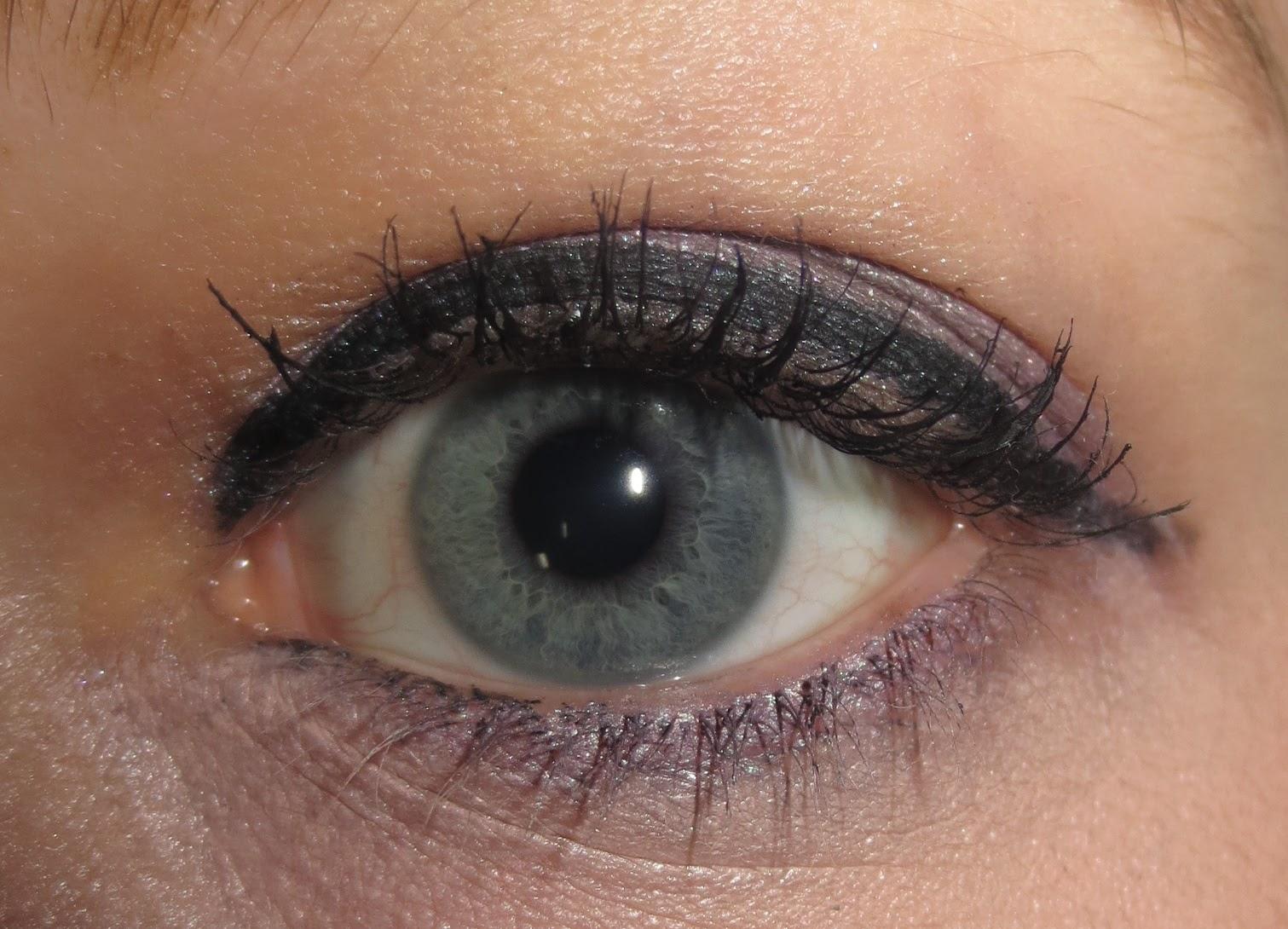 Arbonne It's a Long Story Mascara on eyes
