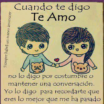 Mi Love You Quotes : Imagenes de Famosos TV: Imagen Cuando Te Digo Te Amo