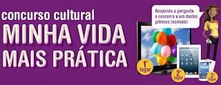 """Concurso Cultural """"Minha Vida Mais Prática"""""""