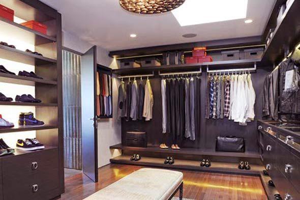 Best home design modern armarios y walk in closet for Closet para zapatos modernos
