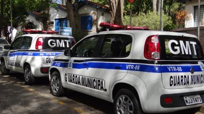 Guarda Municipal recebe três novas viaturas