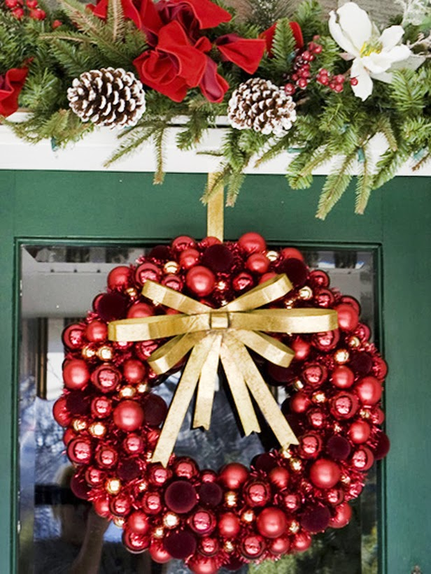Modern furniture easy christmas wreaths ideas