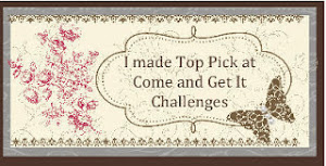 July 2013 Come and Get it Challenges