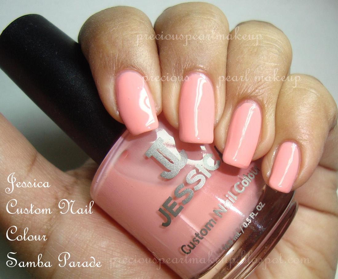 preciouspearlmakeup: Jessica Custom Nail Color Samba Parade